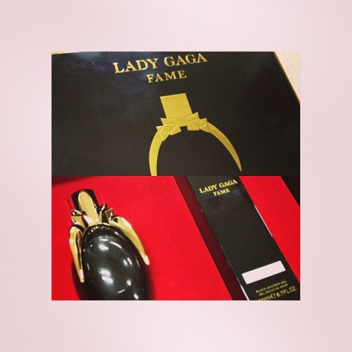 FINALLY GUYS! OHMAHGAD. I'M SO EXTREMELY HAPPY FOR MYSELF! #ladygaga #perfume #blackfluid #Sephora #finally #got #it #love #sexy #yummy #whitagram