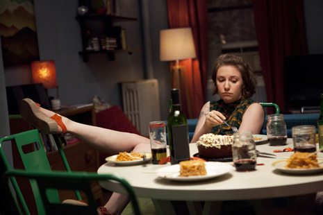 "Last week, I wrote a column about Lena Dunham's HBO show ""Girls."" I had a bunch of abstract, cranky, intellectual goals: I wanted to pluck ""Girls"" out of the debate about Millennials, for starters. I wanted to analyze its critical reception. I wanted to put the discussion of ""privilege"" in a different light. And I wanted to talk about ""Girls"" specifically as television.  But that's just one way of doing criticism, and last night's excellent episode, ""One Man's Trash,"" deserves a more direct response…  Emily Nussbaum writes about the sex scene on last night's episode of ""Girls"": http://nyr.kr/XCn2KG"