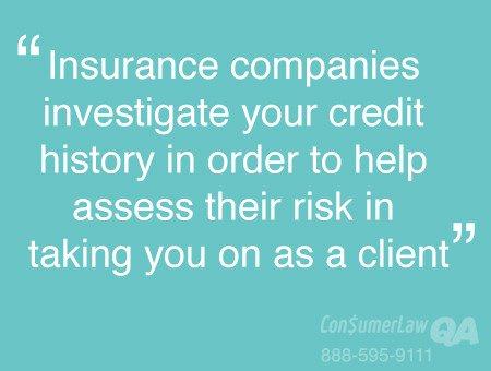 Credit Score Affects Insurance Rates