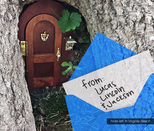 From the Tiny Doors Elfin Mail Bag: Lucas Lincoln and Jackson left a & The Tiny Door Project - Page 1 of 9 Pezcame.Com