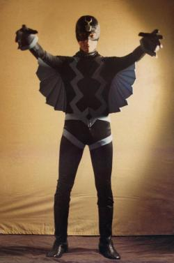 Here's another great photo of artist Mike Zeck dressed as Black Bolt in 1971. You can see more images (and read a little background) on Mike's Facebook page. Great stuff!