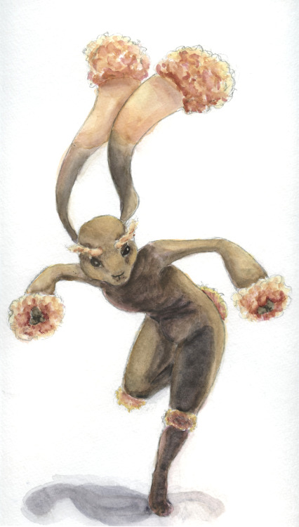 Here's a watercolor doodle of a Lopunny I did recently.