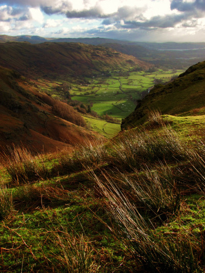 definitelydope:  Langdale Valley, Lake District (by Tom ♠)