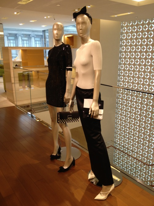 New mannequins at work.