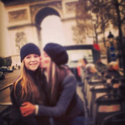 #tbt #Paris with my little #sister @jrjrbigdealdaws