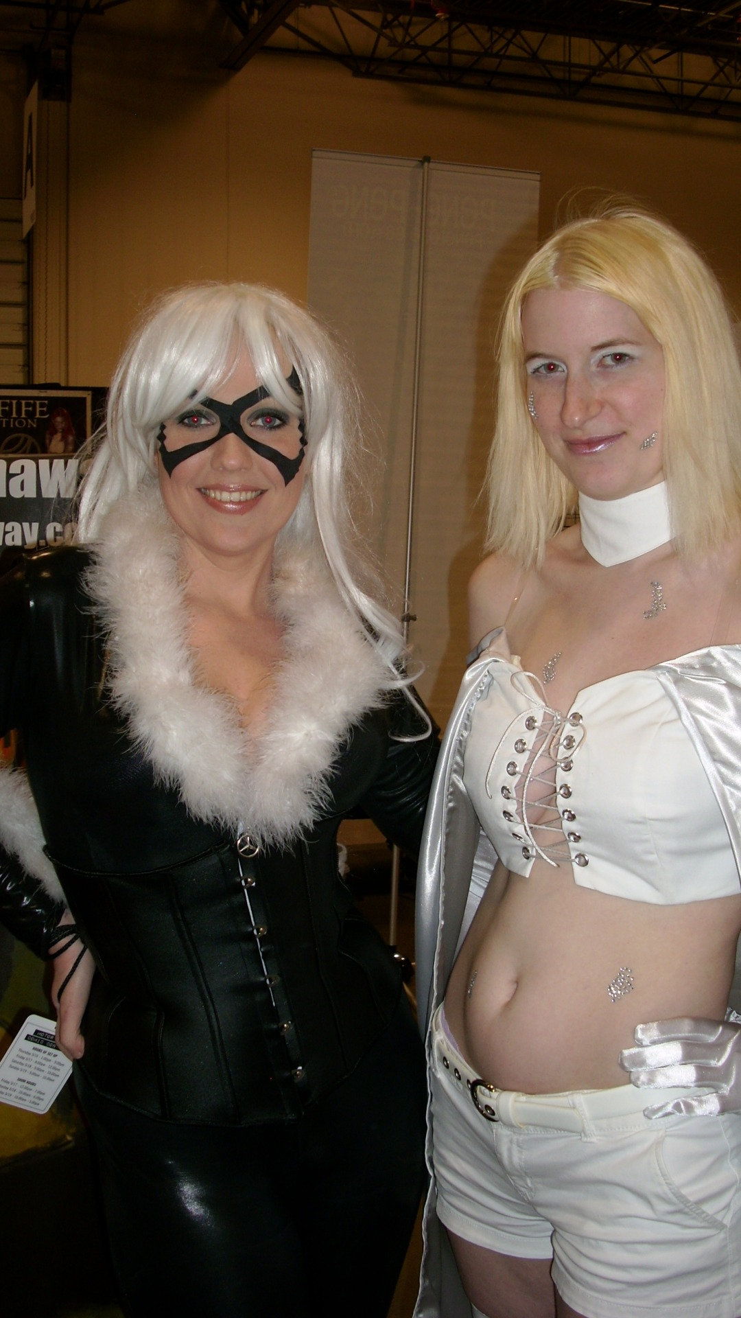 Some of my favorites from Motor City Comic Con Day 2!  Hercules, Black Cat, Power Girl, Lego Boba Fett, Link, Zelda, Fionna, Finn, Echo, Goliath, Hawkeye, and Darth Vader! Such a fun day today! Can't wait for tomorrow when I get to be Fionna the Human!
