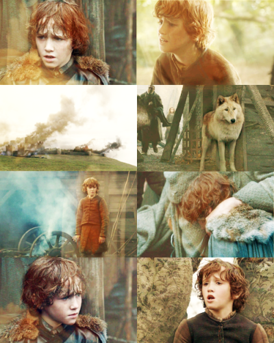 margaeyrtyrell:  Game of Thrones challenge: twelve characters ↳ Rickon Stark