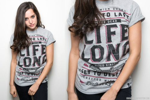 Heres a T I did for the latest drop by Life Long UK. Available online now.