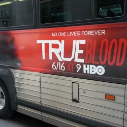 imhereforsookie:  Eh, don't miss the bus on June 16th… for True Blood Season 6 yeah I went there… original