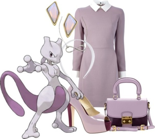 fantasyfashions:  Another request, this one for the muted and psychic mewtwo. Please enjoy!  To buy click the image!
