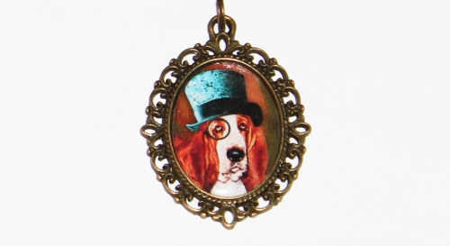 Steampunk Dog Necklacehttps://www.etsy.com/listing/122920498/steampunk-dog-necklace