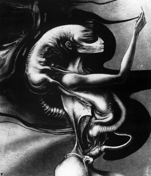 thusreluctant:  Alpha by H.R. Giger