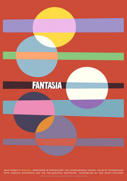 oxane:  FANTASIA poster by Sam's Myth for Silver Screen Society: www.silverscreensociety.com