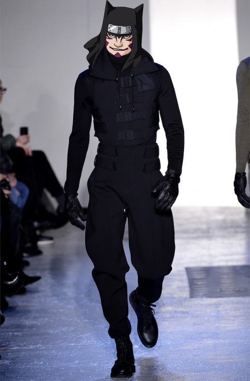 narutoxfashion:  Kankuro (カンクロウ) in Mugler fall-winter 2013-14