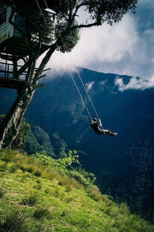 bluepueblo: Treehouse Swing, Germany photo via jess