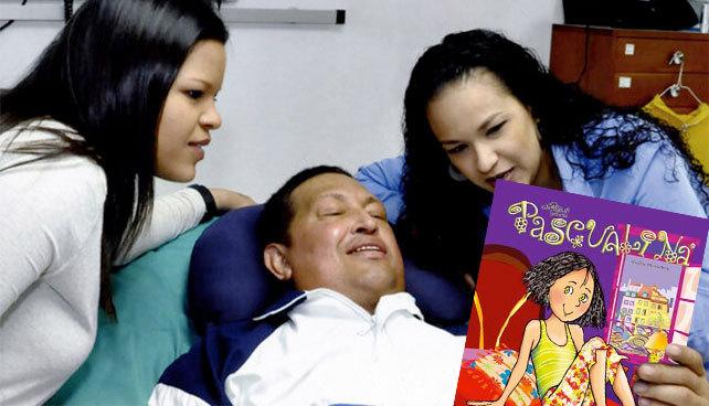 Chávez leyendo la Pascualina