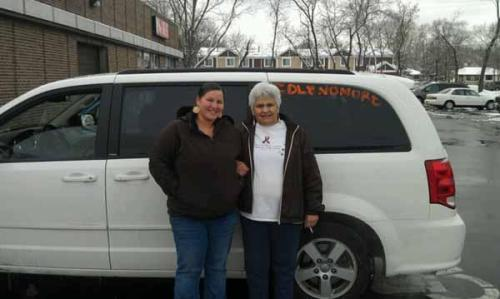 Idle No More Support: Ojibwe Woman Embarks on 1,400-mile Journey to D.C. When Mishkomekinaak Ikwe learned about the Idle No More movement exploding across Canada, and Attawapiskat First Nation chief Theresa Spence's hunger strike – now on its 21st day – she decided to do what she could on the U.S. side of the border to help.