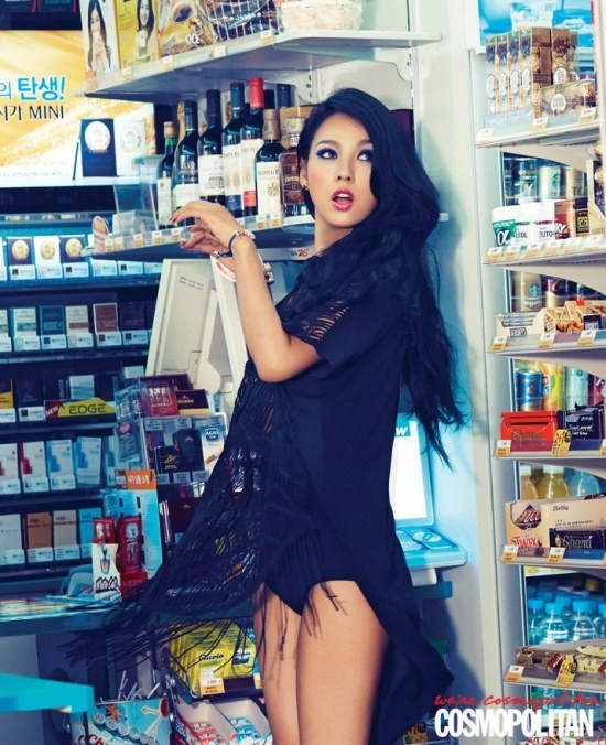 kfashionlover:  Lee Hyori for Cosmo Korea