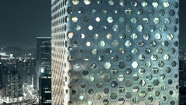 World's largest honeycomb? Learn more about the architects behind China's new buzzworthy skyscraper: http://youtu.be/Ig9Hnrp5EjM