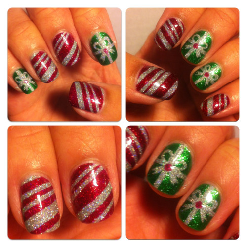 Christmas nails! Enjoy everyone :)