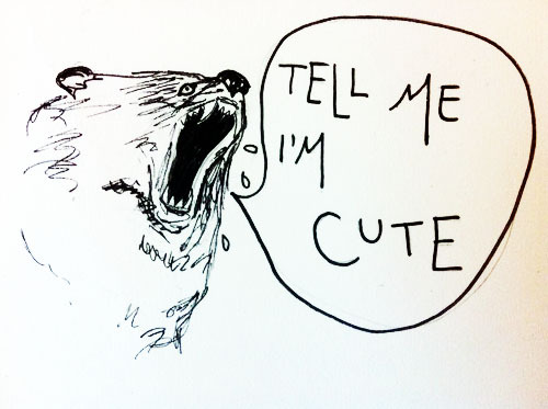worri-er:  you're cute bear