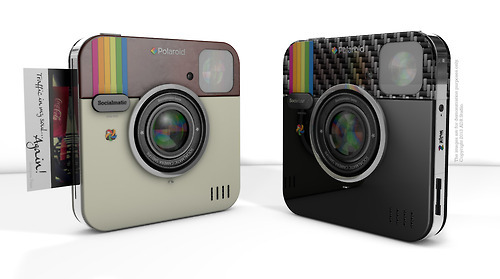 wetheurban:  #DESIGN: The Instagram Socialmatic Camera Is REAL The idea of the Socialmatic Camera created by the folks of Instagram has been in construction ever since the social site reached popularity around May of 2012.  I mean, what could be better than the ability to print Polaroid's of your favorite, filtered pictures? After originally being presented back in February, the creators of the Socialmatic camera will be teaming up with the Polaroid brand to bring this vision to real life and you can see the idea in their announcement video after the jump: Read More
