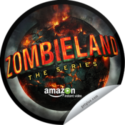 I just unlocked the Zombieland Pilot sticker on GetGlue                      10717 others have also unlocked the Zombieland Pilot sticker on GetGlue.com                  It's time to unwrap a Twinkie and eat your heart out because you're watching the pilot of Zombieland: The Series!  Share this one proudly. It's from our friends at Sony Pictures Television.