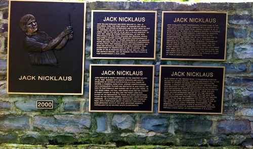 Happy birthday Jack! (photo taken at Muirfield Village Golf Club)