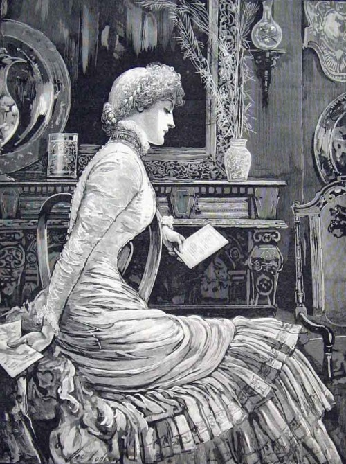 highvictoriana:  Valentine's Mistake Missive Letter from the Illustrated London News, 1883.