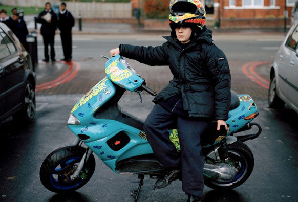 WORK | BIKER BOYS | VICE MAGAZINE | PH. ALEX STURROCK Oh I love this little kid. Must do another biker shoot…