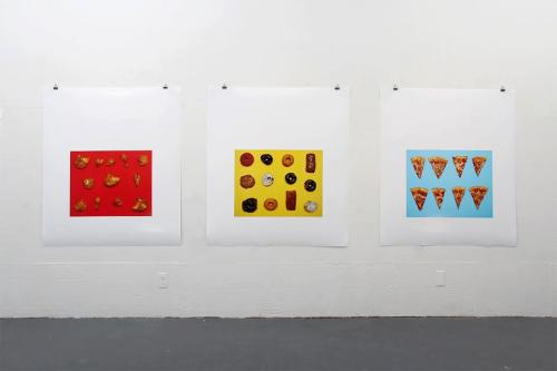 'Food Editions'. Installation view.
