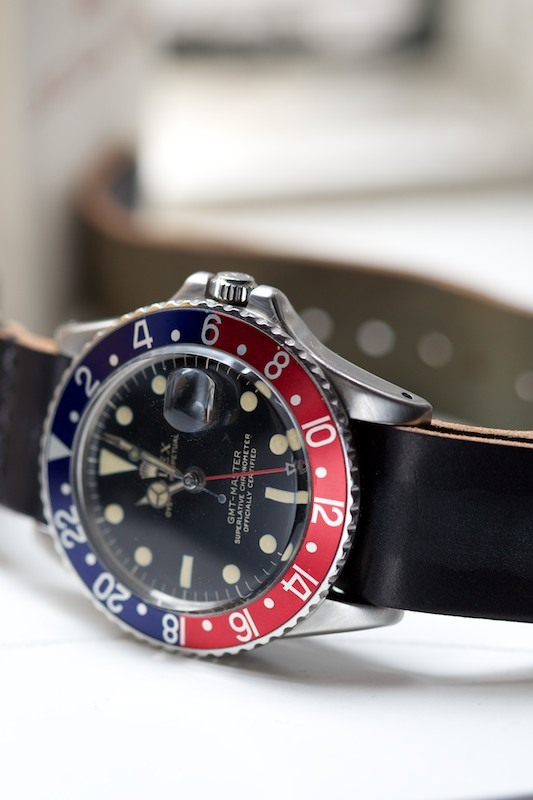 ethandesu:  Black Cordo and GMT circa 1966