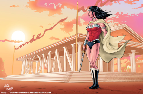 comicheroines:  Comic Heroines Wonder Woman Day DCnU Wonder Woman