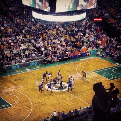 oneyeartoconquerboston:  List item accomplished: Knicks vs. Celtics