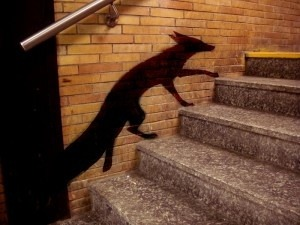 Fox on the stairs — Via Beautify your images smartly! →