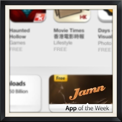 Congrats to our client, Jamn has been selected as App of the Week!