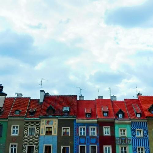architettura architecture archi urban urbanistic city cityscape colorful houses regional traditional historical poznan poland polska pl europe cute trip love it beautiful