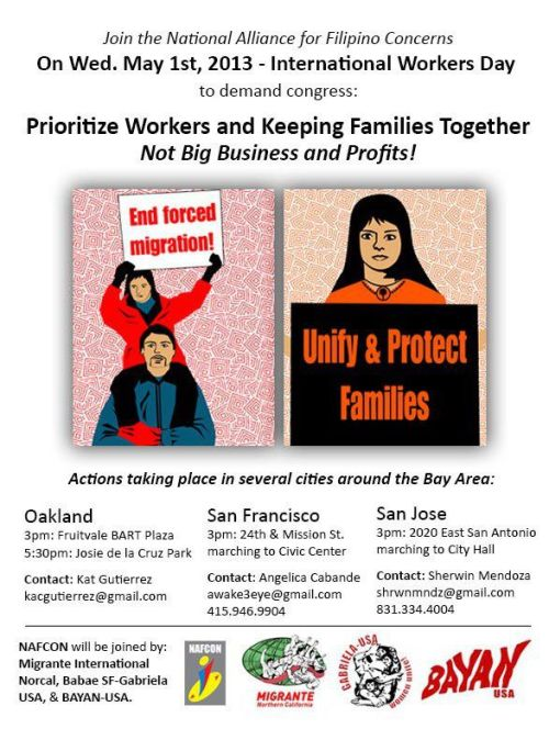 anakbayansv:  5/1: International Worker's Day March in SJ  Join us this Wednesday, May 1st to march for workers all over the world.We will be marching loud…  View Post