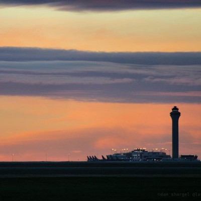 #DIA #Denver #sunrise #controltower #canon