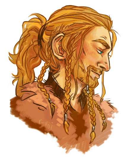 siriusbingers:  r-uoi:  warm-upi didn't know i wanted dwarves with ponytails so bad until i saw this and now it's all i want  #suggestive beep