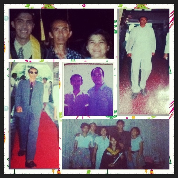 Happy birthday Tatay! #flashback