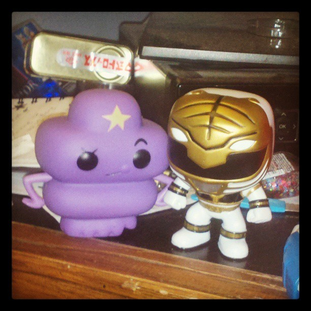 Bought myself some B-day presents #ISHIPIT #WhyDoIShipIt?! #LSP #WhiteRanger #PowerRangers #AdventureTime