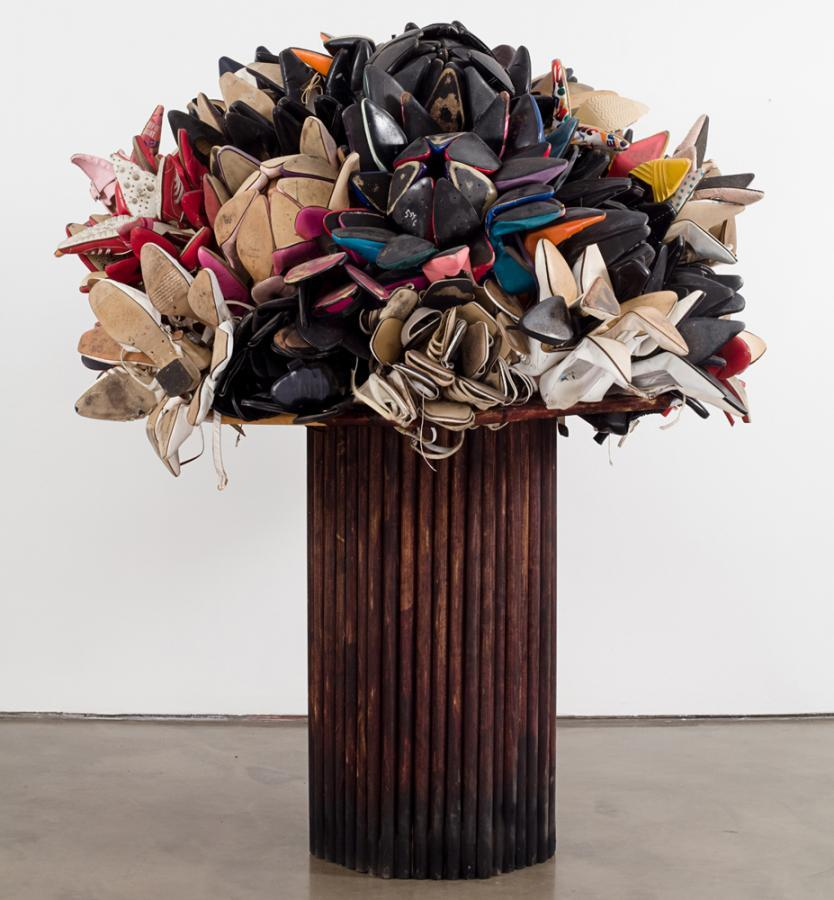 cavetocanvas:  Willie Cole, Shoe Bouquet, 2009