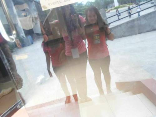Isn't it cool to take a picture of a reflection on a glass door? ^_^