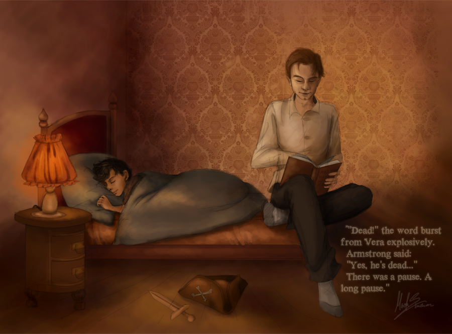 adorable-sherlock-fanart:  Not a fairytales fan by ~Beginte