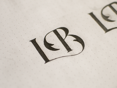 trendgraphy:  LB Monogram by James Lavine