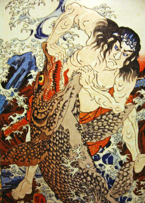 dirtyscarab:  Utagawa Kuniyoshi Scan from samurai ghost and monster wars