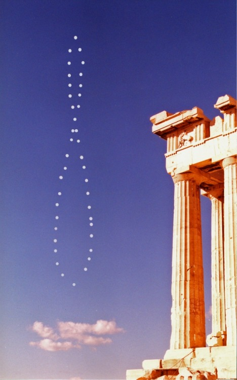 Analemma on The Southern Meridian      A graduated scale in the shape of a figure eight, indicating the sun's declination and the equation of time for every day of the year and usually found on sundials and globes.