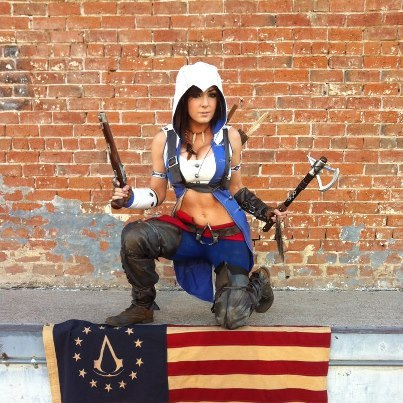 Jessica Nigri pour Assassin's Creed 3