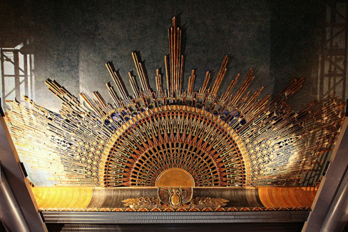 Egyptian Theatre Ceiling by Non Paratus on Flickr.